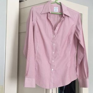 Brooks Brothers gorgeous fitted top 10